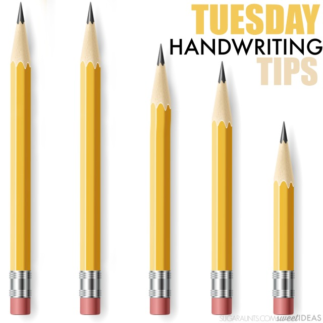 Try these easy handwriting tips using hands-on handwriting activities for kids.
