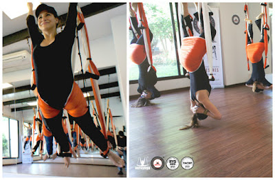 columpio, yoga, pilates, hamaca, swing, trapeze, suspension, acro