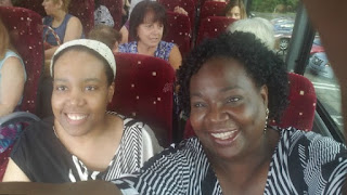 On our way to New York City in a Hagey Tour Bus
