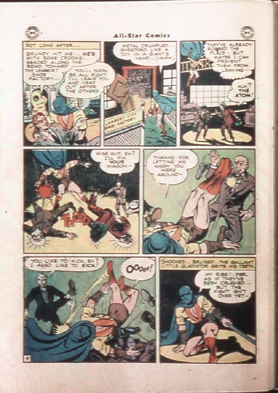 Read online All-Star Comics comic -  Issue #33 - 32