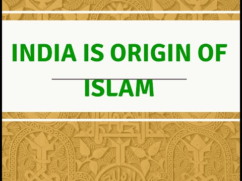 Origin of Islam
