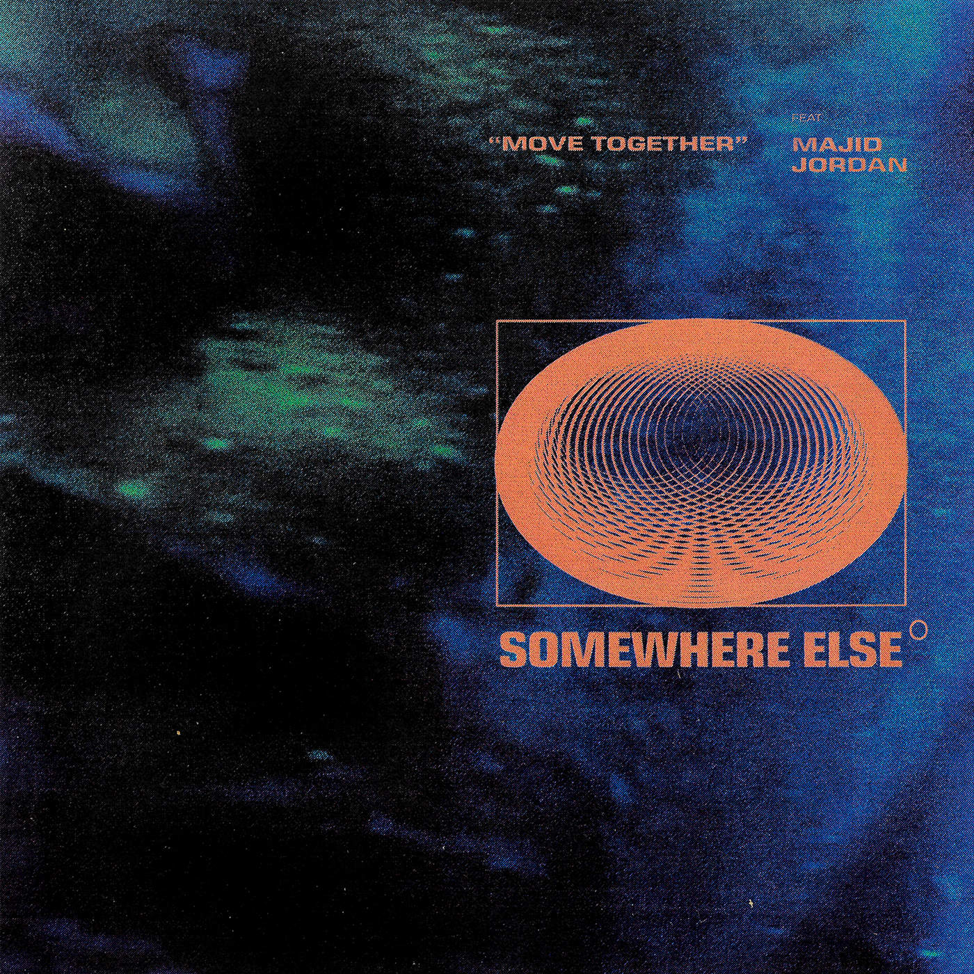 Somewhere Else - Move Together (feat. Majid Jordan) - Single Cover