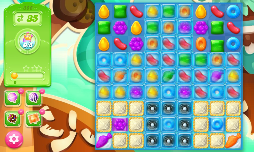 Candy Crush Jelly Saga saga 355