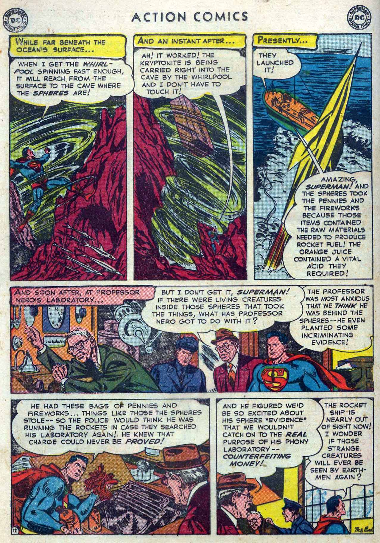 Read online Action Comics (1938) comic -  Issue #167 - 14