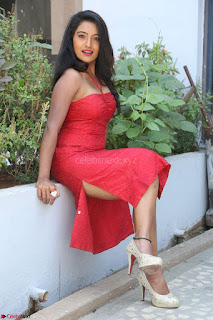 Mamatha sizzles in red Gown at Katrina Karina Madhyalo Kamal Haasan movie Launch event 026.JPG