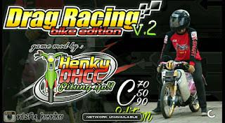 GAME DRAG RACING BIKE EDITION FULL MOTOR HONDA C50 C70