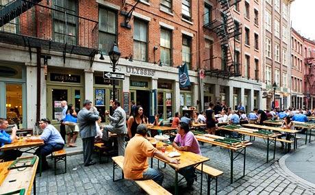 Stone Street em Nova York