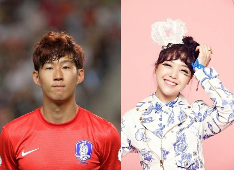 Minah Girl's Day dan Son Heung Min dikabarkan Putus - Kpop Chart | Blog