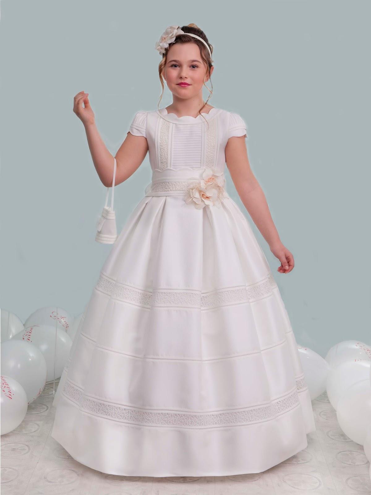 60ced7c435 La nueva coleccion viene cargada de dulzura e inocencia con vestidos de  diferentes estilos para que tu princesa disfrute de un dia especial e  inolvidable ...