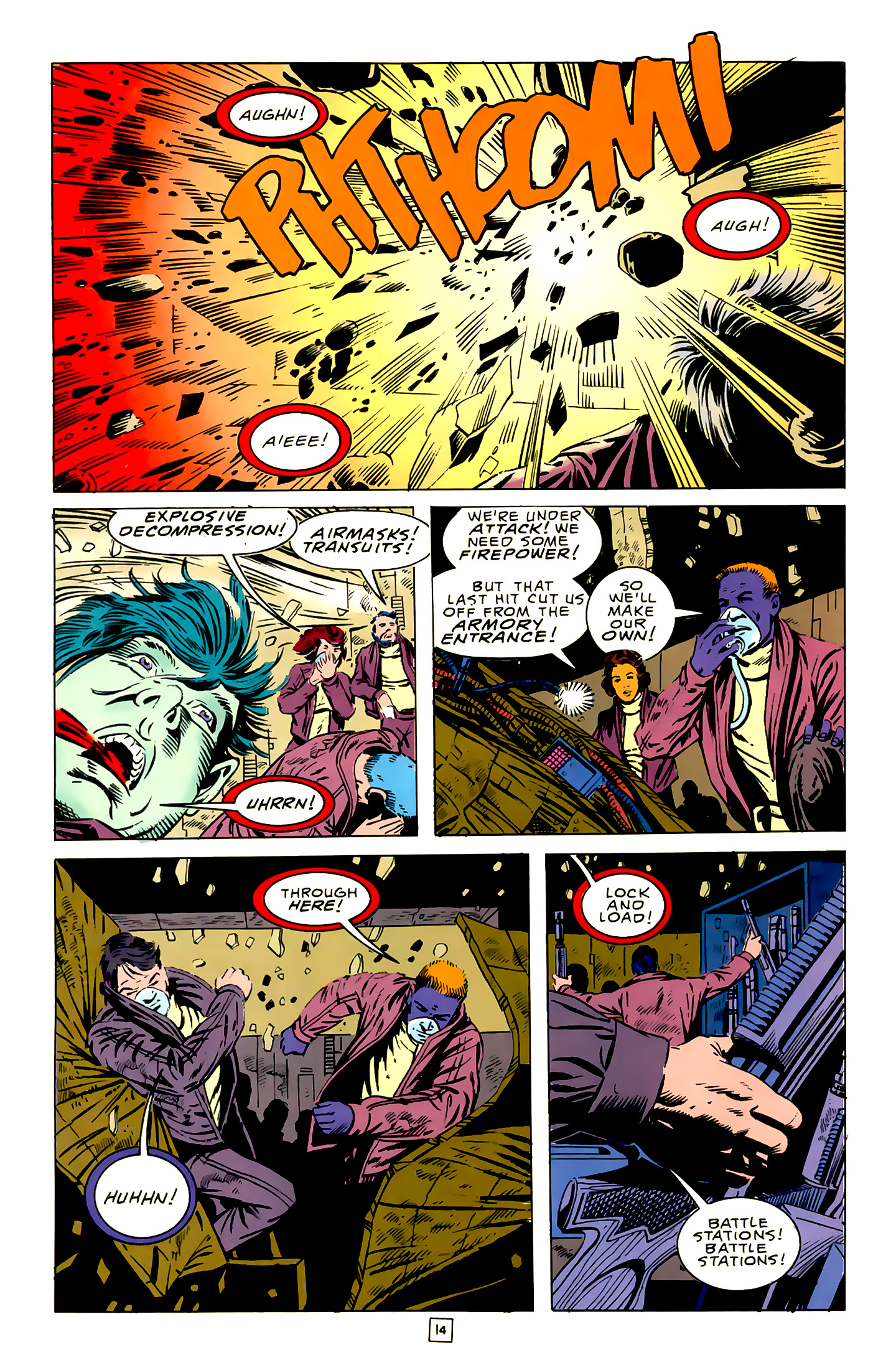 Legion of Super-Heroes (1989) 16 Page 14