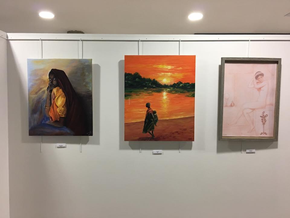 Esfumato pintores exposici n dedicada a la mujer en las rozas - Pintores las rozas ...