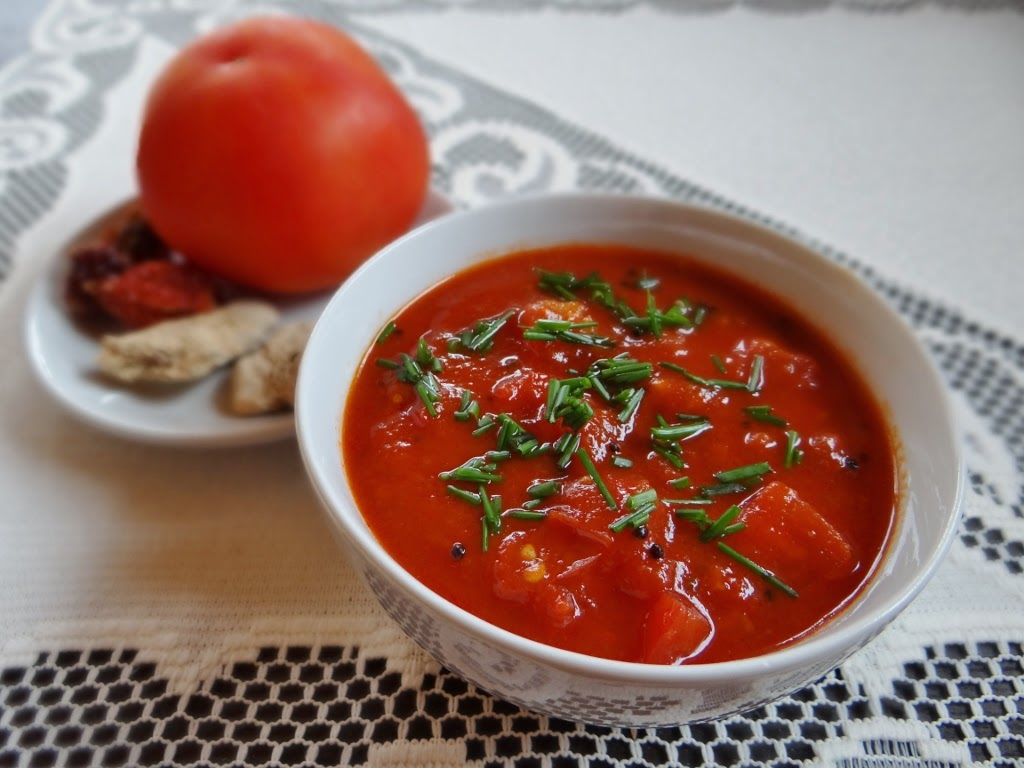 Chutney pomidorowo-imbirowy