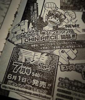 """Manga: """"Chin Piece"""" el nuevo spin-off de One-piece"""