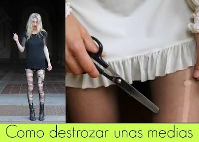 Como destrozar las Pantis  y ser Fashion