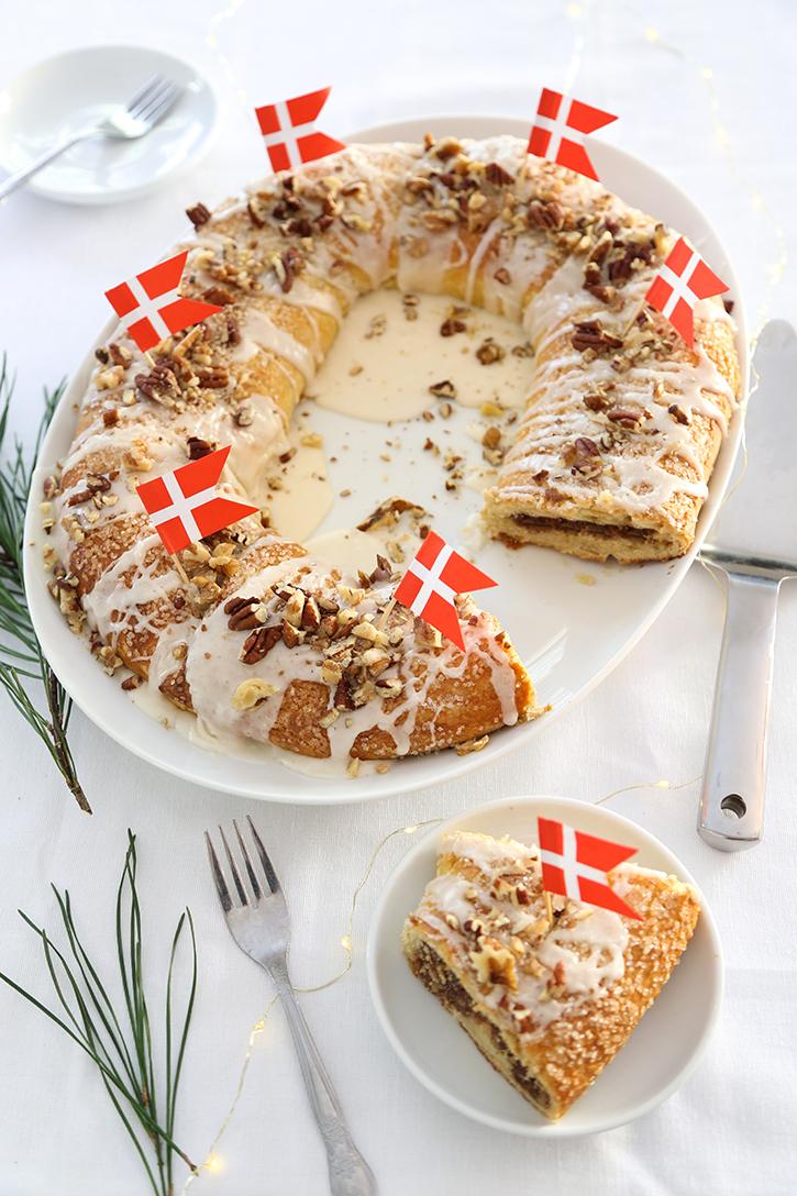 Old Danish Christmas Kringle Dansk Smorkringle Sprinkle Bakes