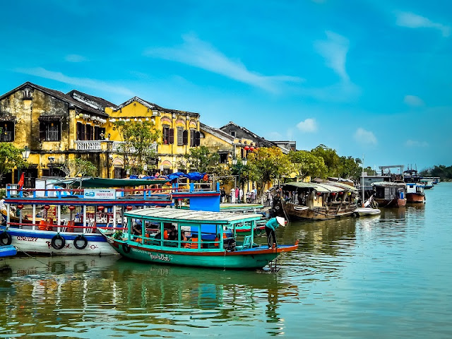 Hoi An beauty under the view of travel blogger Thailand