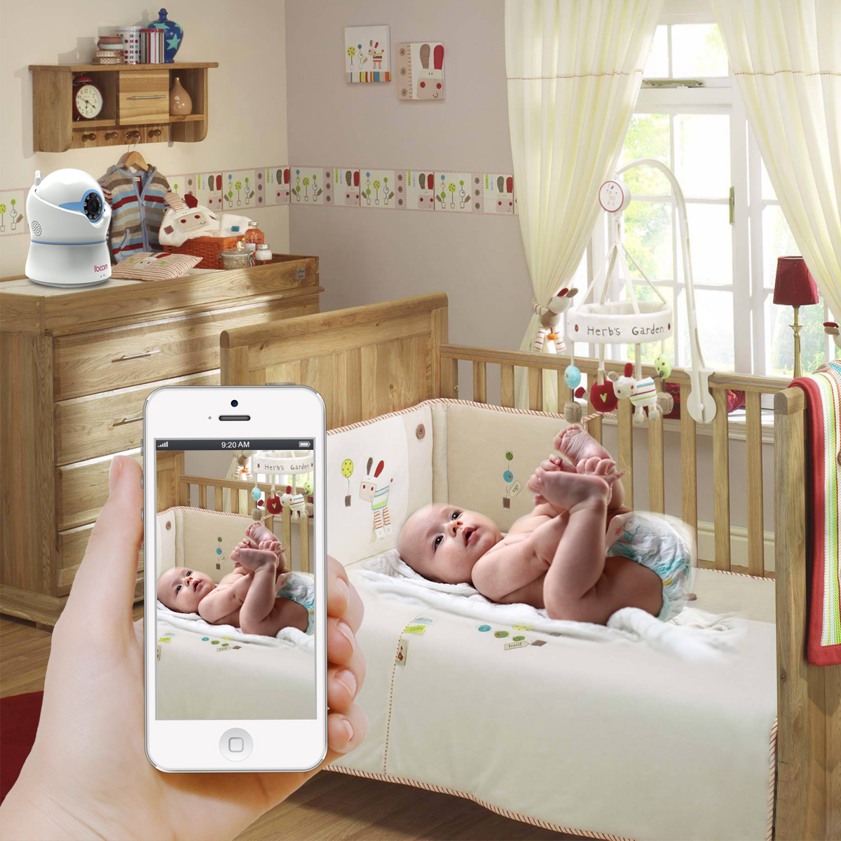 Sumpple com - WiFi Video Camera, Baby Monitor for iPhone