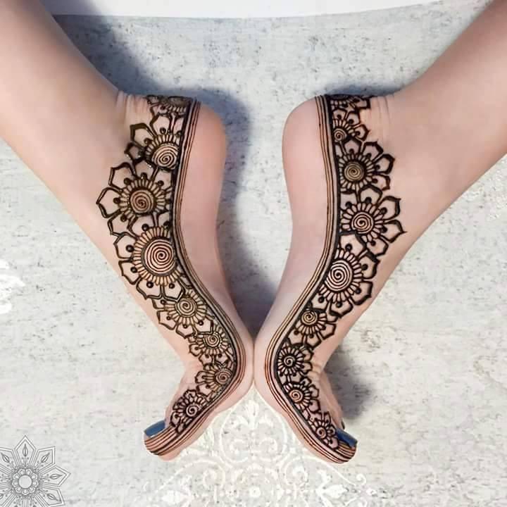 Mehndi Designs Jobs In Hyderabad : Top new latest arabic henna mehndi designs for feet