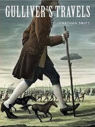 Gulliver's Travels by Jonathan Swift book cover