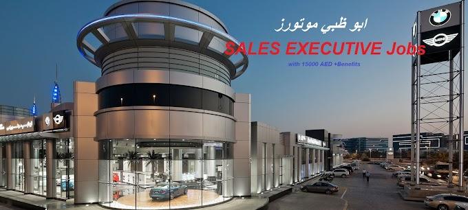 SALES EXECUTIVE AT ABU DHABI MOTORS