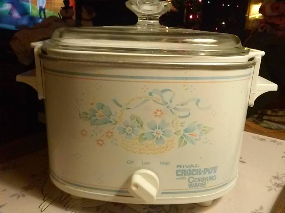 Corningware 411 Rival Crock Pot With Corning Ware Booklet