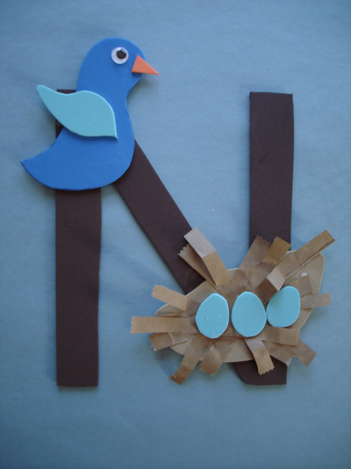 Play And Learn With Dana Letter N Nest