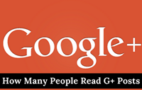 An Easy Way To See How Many People Read Your Google+ Posts