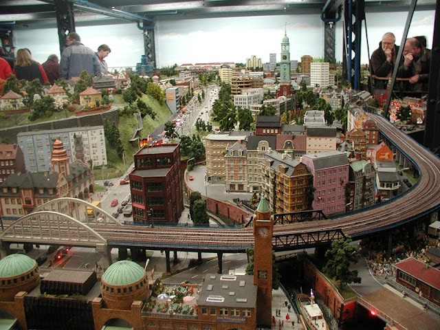 Miniatur Wunderland em Hamburgo