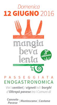 Mangiabevalenta 12 giugno Oltrepò Pavese 2016