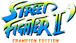 Street Fighter 30th Anniversary Collection - Street Fighter II' Champion Edition - Logo