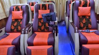 Elegant Class Bus Tingkat PO Putra Mulya