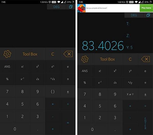 أفضل 5 تطبيقات آلة حاسبة لهواتف الأندرويد