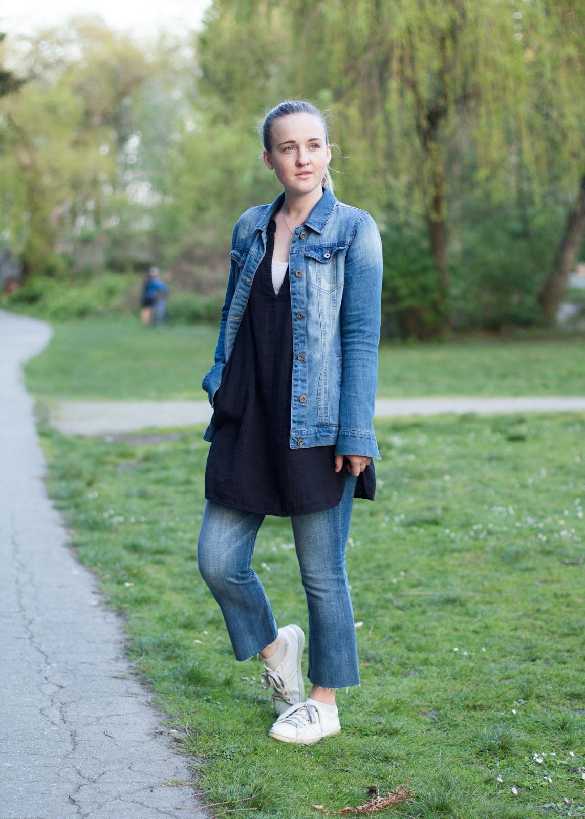 Spring outfit - denim on denim - Vancouver Fashion Blog