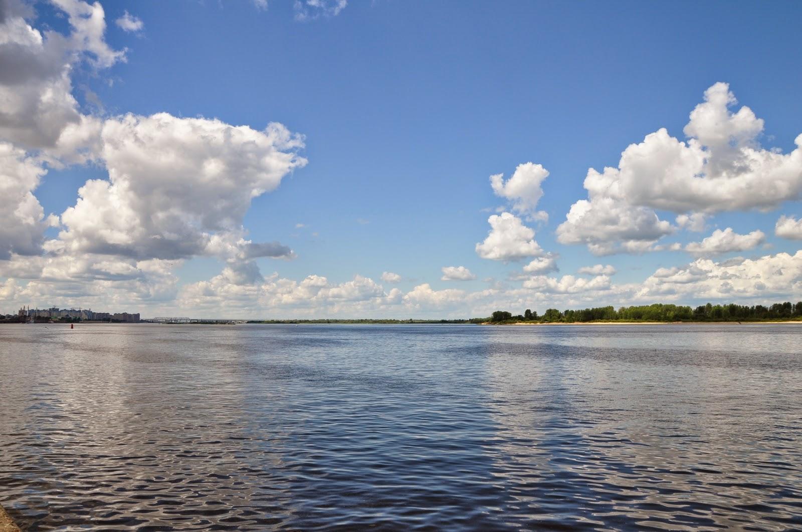 Река волга картинки чебоксары