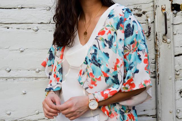 photo détails kimono