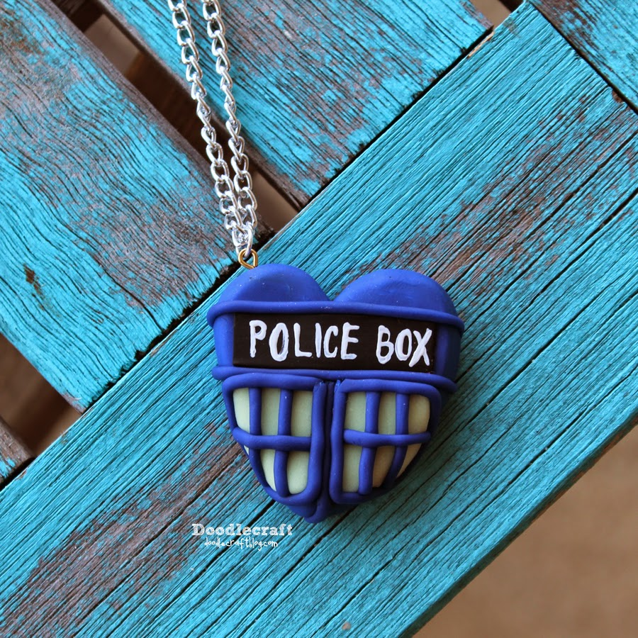 Paul Mcgann Tardis Heart Necklace 8th Day Of Doctor Who