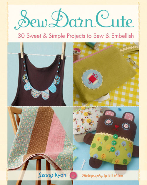 image sew darn cute book review sweet simple sewing projects jenny ryan