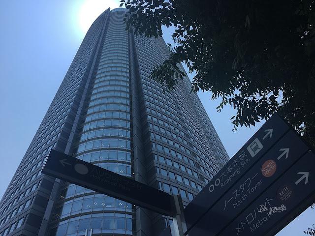 Torre Mori en Ropongi
