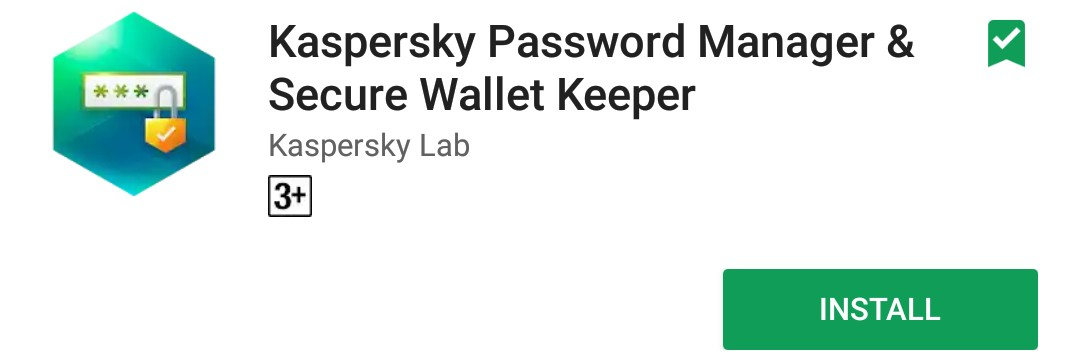 Kaspersky Password Manager and secure wallet keeper