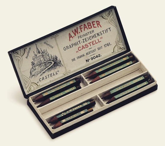 Faber-Castell pencils 1908