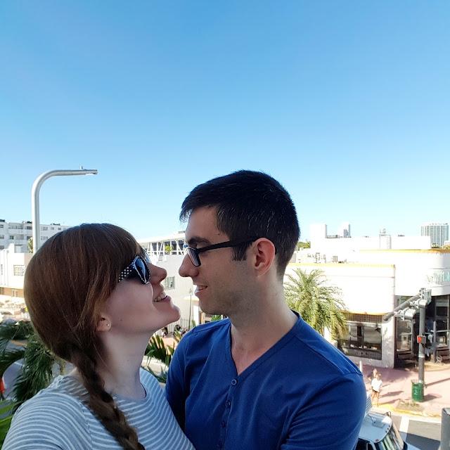 Happy Couple Miami beach