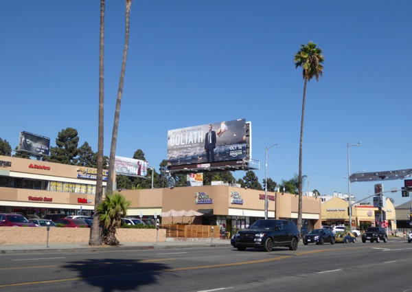 Goliath season 1 billboard