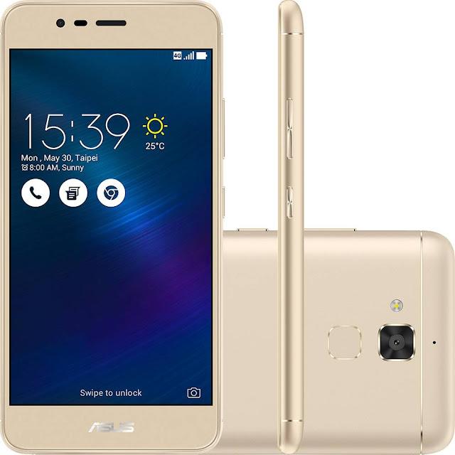 Celular até 1000 - Smartphone Asus Zenfone 3 Max - Dourado
