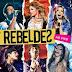 Encarte: Rebeldes - Ao Vivo