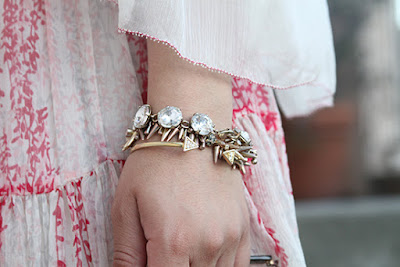 LE TOTE Gold Arm Party
