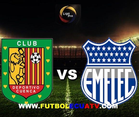 Deportivo Cuenca vs Emelec se miden desde las 19:30 horario local a efectuarse en el reducto Alejandro Serrano Aguilar por la fecha dieciocho de la Serie A Ecuador, siendo el árbitro principal Luis Quiroz con transmisión de los canales autorizados DirecTV Sports, CNT y GolTV.