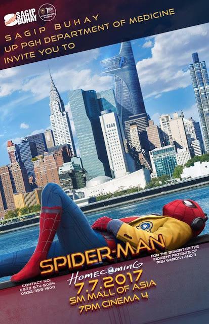Spiderman Block Screening - Sagip Buhay Medical Foundation