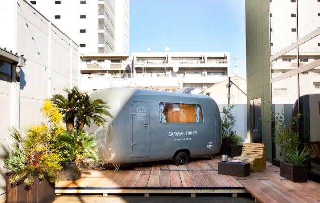 【特色住宿】日本東京的Caravan Tokyo 與別不同的旅館