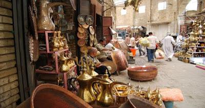 سوق النحاس في مدينة تونس العتيقة