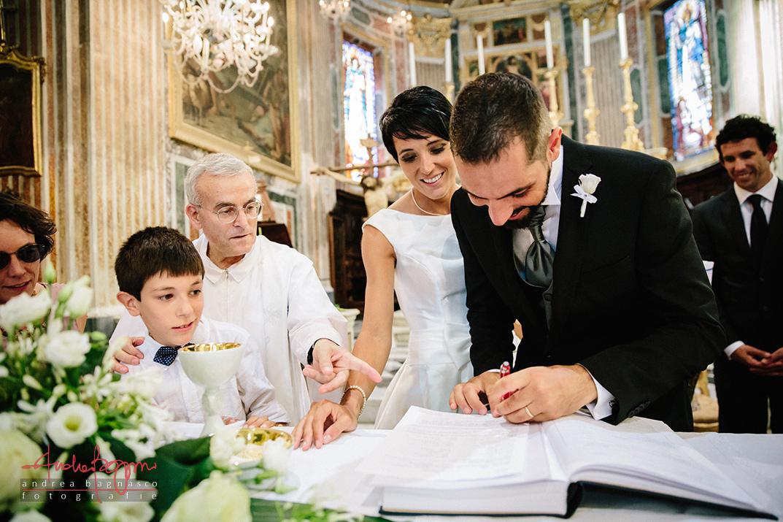 firme registro sposi